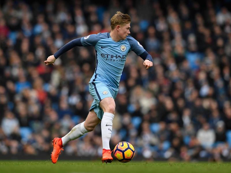 City star Kevin de Bruyne (Getty)