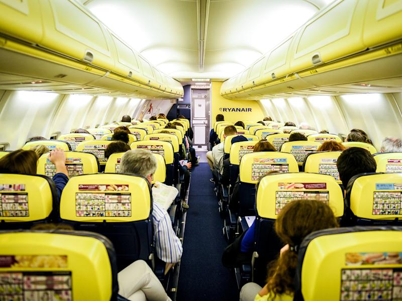 A passenger was moved from his assigned seat: Getty