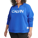 """<p><strong>Calvin Klein </strong></p><p>macys.com</p><p><strong>$29.75</strong></p><p><a href=""""https://go.redirectingat.com?id=74968X1596630&url=https%3A%2F%2Fwww.macys.com%2Fshop%2Fproduct%2Fcalvin-klein-performance-plus-size-split-neck-sweatshirt%3FID%3D11989646&sref=https%3A%2F%2Fwww.elle.com%2Ffashion%2Fshopping%2Fg36181775%2Fbest-athleisure-wear-brands%2F"""" rel=""""nofollow noopener"""" target=""""_blank"""" data-ylk=""""slk:Shop Now"""" class=""""link rapid-noclick-resp"""">Shop Now</a></p><p>If you're a part of the, """"not wearing pants unless I absolutely have to and I'm only wearing a large sweatshirt if I do,"""" club then Calvin Klein has plenty of choices for you. Don't worry, I'm not even wearing pants while writing this.</p><p><em>Style Pictured Available in 1x to 3x</em></p>"""