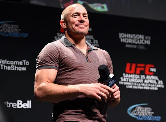 """Georges St-Pierre's lawyer called his current UFC contract a """"form of slavery."""" (Getty)"""