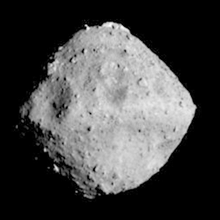 <em>The asteroid of Ryugu that Hayabusa2 was expected to reach as its target (PA)</em>