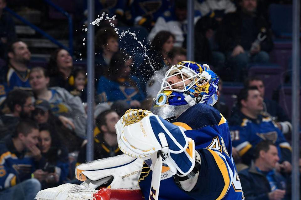 Carter Hutton is not far from claiming the starting job in St. Louis. (Getty Images)
