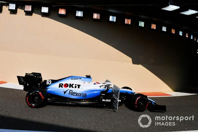 """George Russell, Williams Racing FW42 <span class=""""copyright"""">Mark Sutton / Motorsport Images</span>"""