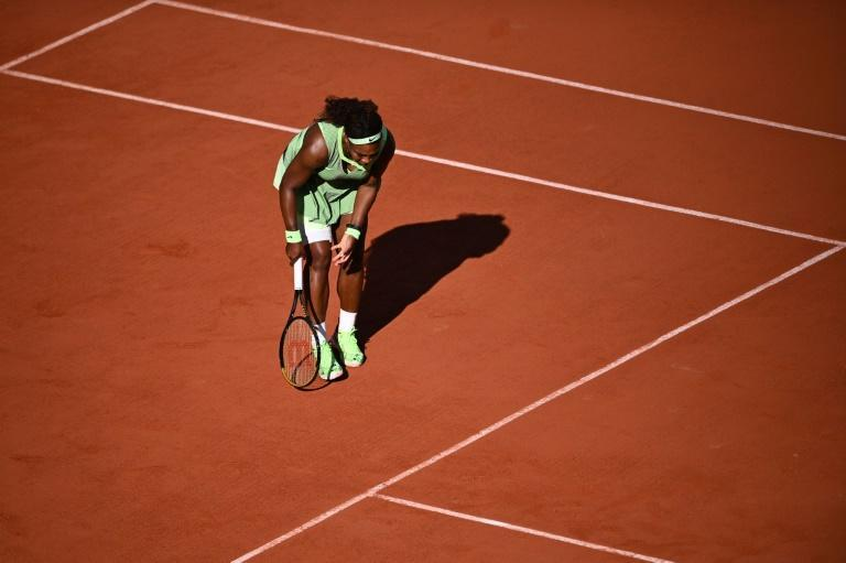 Serena Williams was eliminated in the last 16 of the French Open
