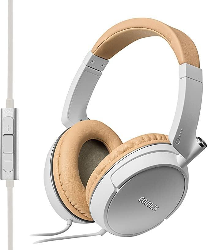 <p>You can never go wrong with the <span>Edifier P841 Comfortable Noise Isolating Over-Ear Headphones with Microphone</span> ($46).</p>