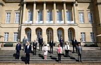 The talks have prepared the ground for a broader summit of G7 leaders in Cornwall, southwest England, starting Friday.