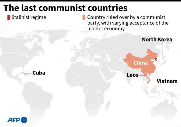 The last communist countries