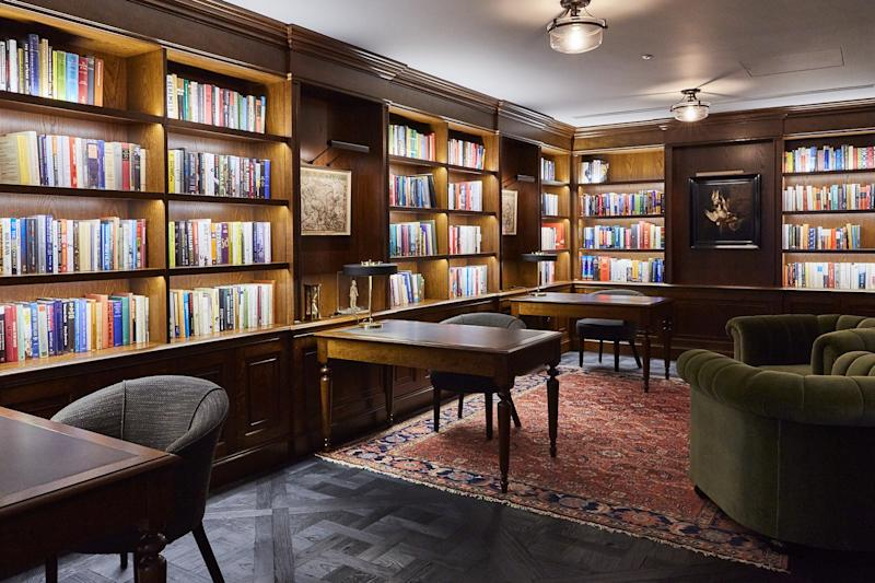 Heywood Hill assembled this library for Artemis Fund Managers in London.