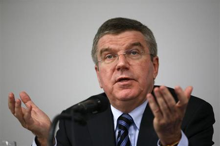 International Olympic Committee (IOC) President Thomas Bach speaks during a news conference in Seoul November 21, 2013. REUTERS/Kim Hong-Ji
