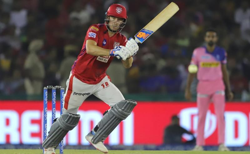 David Miller of Kings XI Punjab bats during match 32 of the Vivo Indian Premier League Season 12, 2019 between the Kings XI Punjab and the Rajasthan Royals held at the IS Bindra Stadium, Mohali on the 16th April 2019 Photo by: Deepak Malik /SPORTZPICS for BCCI