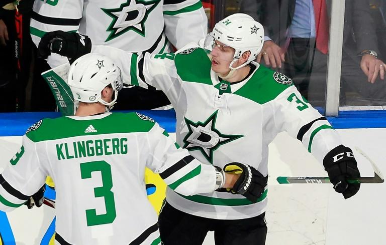 Stars rally to oust Flames, Islanders down Caps to advance in NHL playoffs