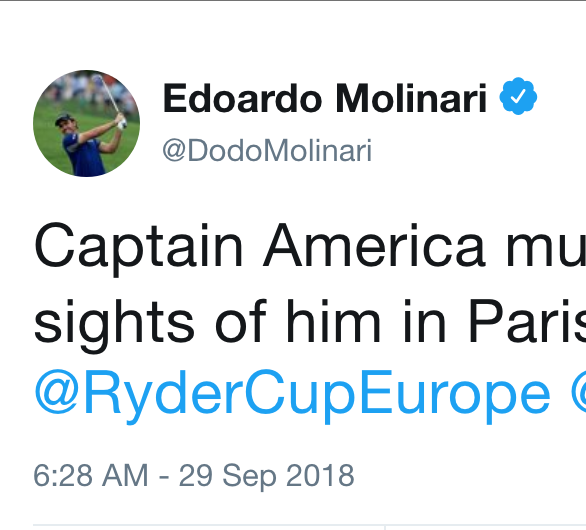 Europe Defeats U.S. to Win Ryder Cup