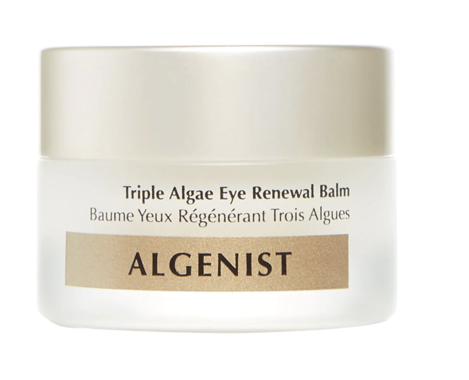 Algenist Triple Algae Eye Renewal Balm with Multi-Peptide Complex is available at Sephora for $87.