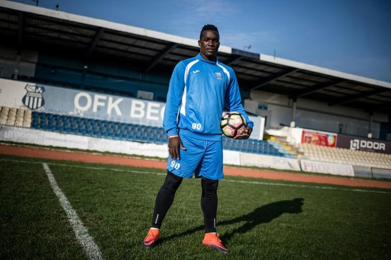 Ugandan football player Aucho Khalid, 23 is among hundreds of players from Africa, Asia and South America who are playing in Eastern Europe pending a transfer to the major championships and clubs