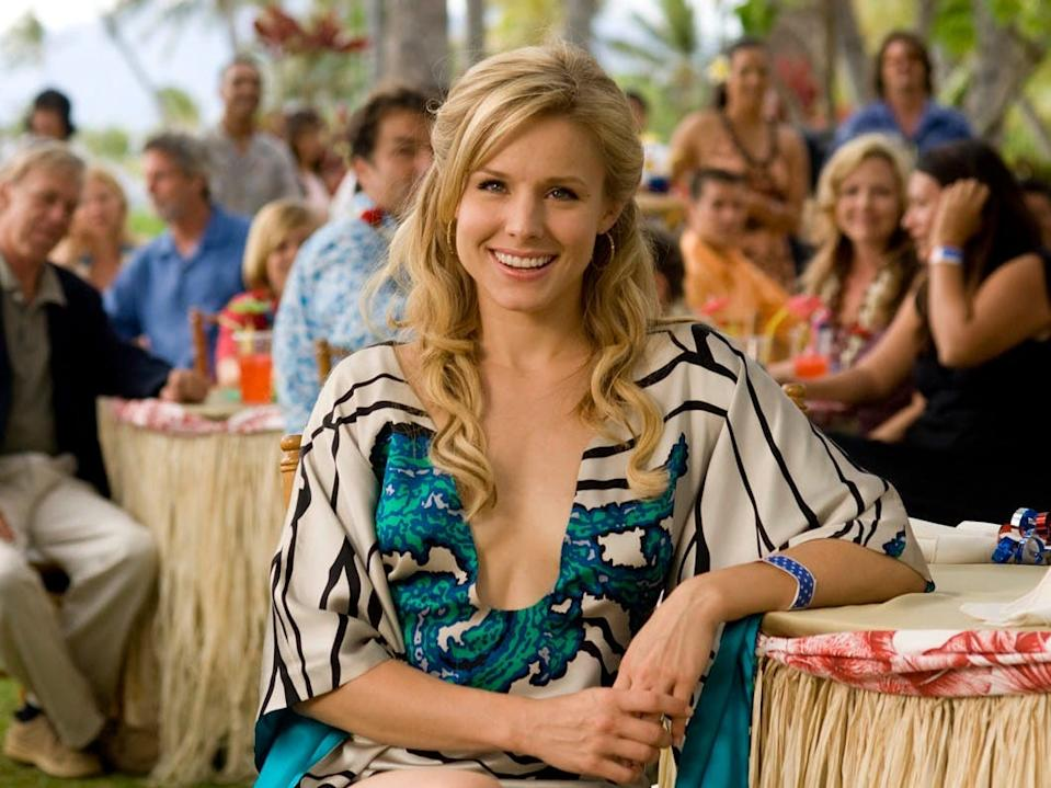 "Kristen Bell starred in ""Forgetting Sarah Marshall."""