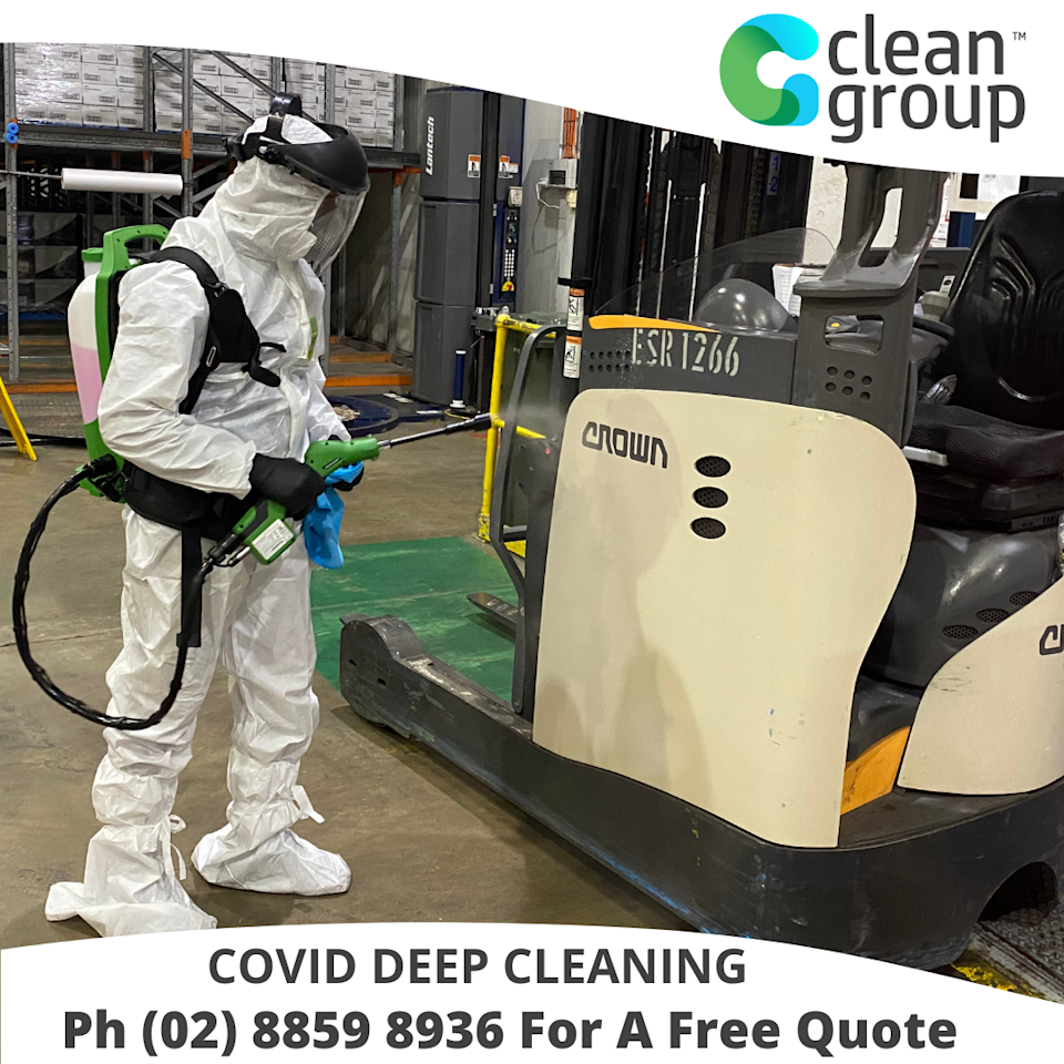 Covid-19 cleaning Sydney