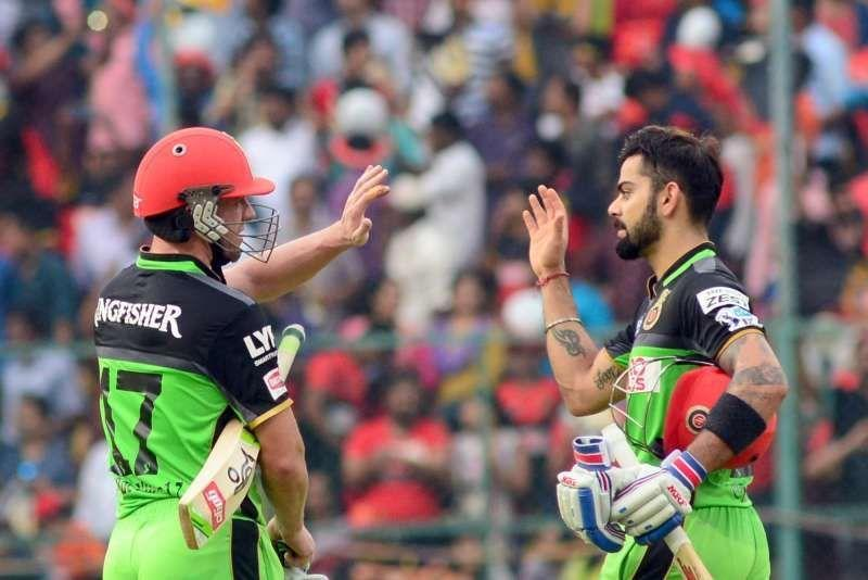 Virat Kohli and AB de Villiers smashed centuries against Gujarat Lions in IPL 2016