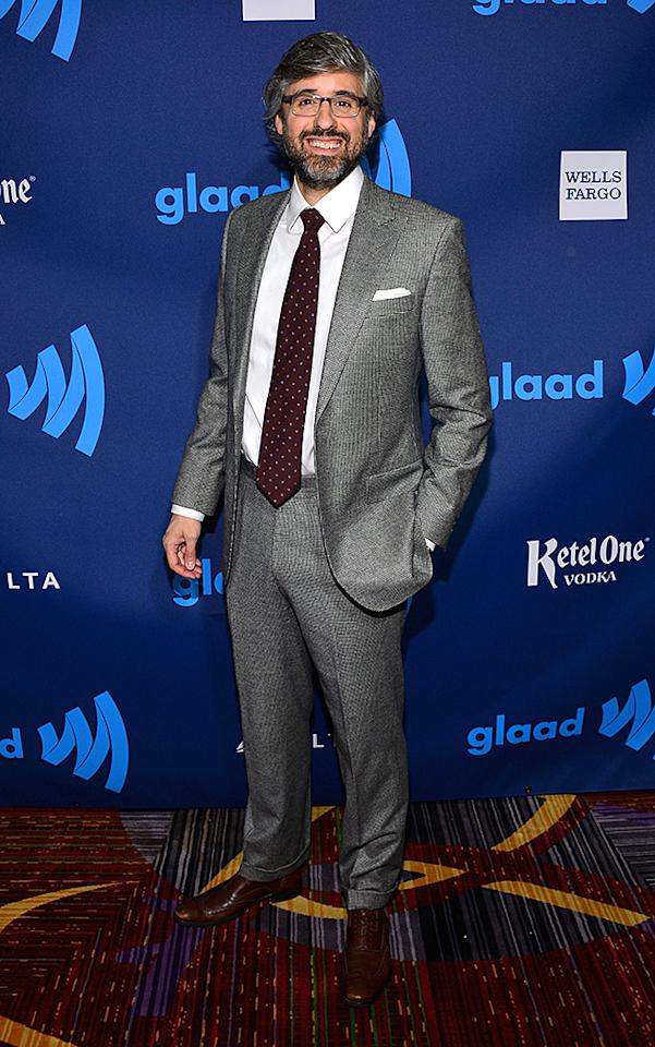 NEW YORK, NY - MARCH 16:  Mo Rocca attends the 24th Annual GLAAD Media Awards on March 16, 2013 in New York City.  (Photo by Larry Busacca/Getty Images for GLAAD)