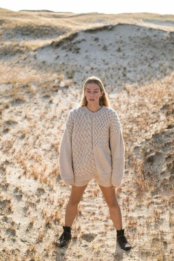 "<br><br><strong>The Knotty Ones</strong> Heartbreaker Sweater, $, available at <a href=""https://www.theknottyones.com/collections/all/products/heartbreaker-sweater-beige?"" rel=""nofollow noopener"" target=""_blank"" data-ylk=""slk:The Knotty Ones"" class=""link rapid-noclick-resp"">The Knotty Ones</a>"