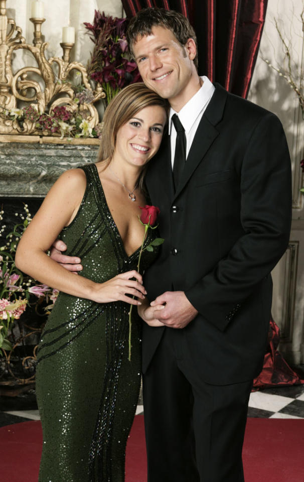 "<b>Season 8</b><b>,</b><b> ""The Bachelor""</b><b><br>Travis Stork and Sarah Stone</b><br><br>BROKE UP sometime after the show finished taping. A week after the finale aired, Travis and Sarah told reporters on a conference call that they had already split."
