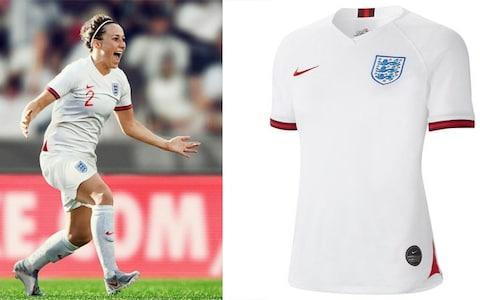 England home kit, 2019 Women's World Cup - Credit: NIKE