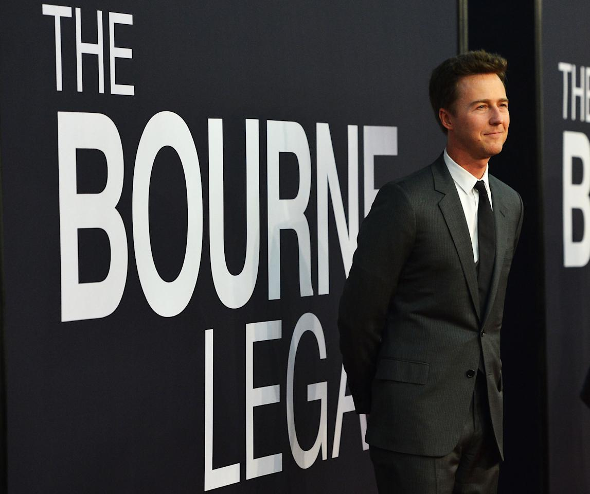 """""""The Bourne Legacy"""" New York Premiere - Inside Arrivals"""