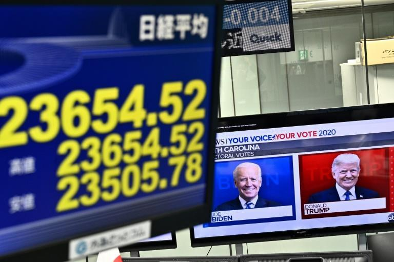 The Tokyo market may react heavily to election-related headlines that heavily influence algorithm trading