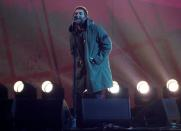 FILE PHOTO: Liam Gallagher performs at the Brit Awards at the O2 Arena in London