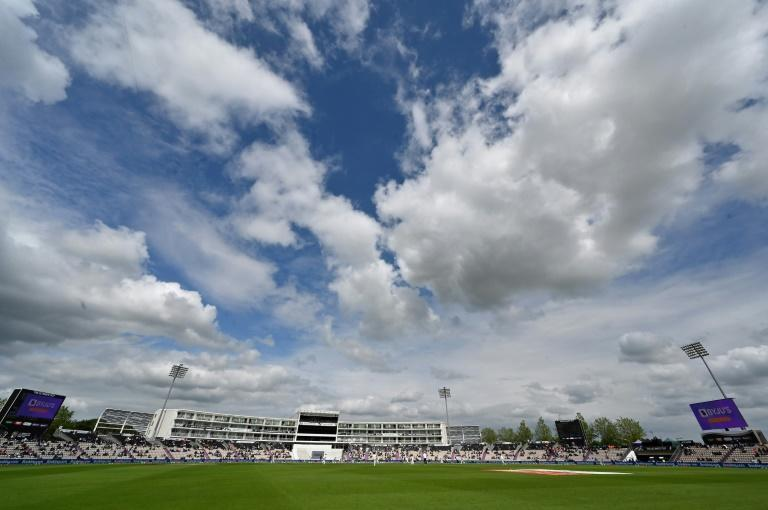 Two fans were ejected from the Hampshire Bowl during the fifth day's play in the World Test final between India and New Zealand on Tuesday
