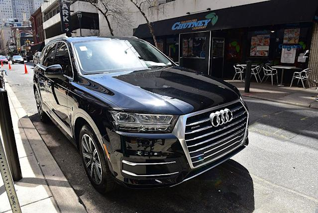 <p>Audi Q7 SUV<br>(Photo by Lisa Lake/Getty Images for Audi) </p>