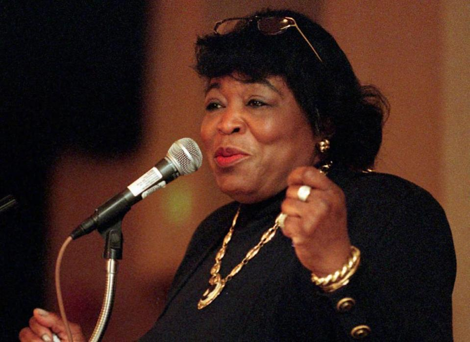 Dr Betty Shabazz. Born in 1936 and adopted by a middle-class couple in Detroit, Shabazz joined the black nationalist Nation of Islam when she married Malcolm X in 1958.