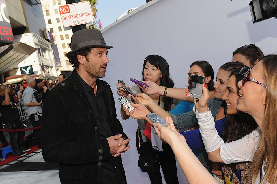 Patrick Dempsey, pictured with fans in 2011, won a lot of hearts as Dr. Derek Shepherd. (Photo: Kevin Winter/Getty Images for Cirque du Soleil)