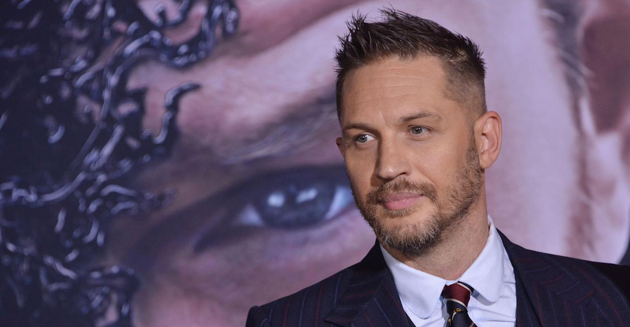 "<p>British actor Tom Hardy had a stellar year career wise. The 41-year-old Londoner starred in the huge <a rel=""nofollow"" href=""https://uk.movies.yahoo.com/tagged/Venom/"">Marvel hit Venom</a> this year. The movie made an incredible £672 million internationally at the box office and proved yet again Hardy's star power. He also grabbed headliens this year for being awarded a CBE for his services to drama. </p>"