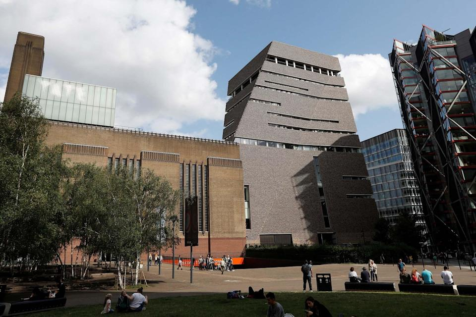 <p>The boy was thrown from a viewing platform at the Tate Modern</p> (REUTERS)