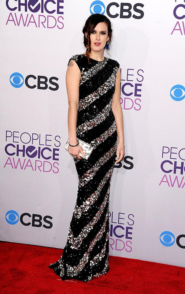 Rumer Willis attends the 2013 People's Choice Awards at Nokia Theatre L.A. Live on January 9, 2013 in Los Angeles, California.