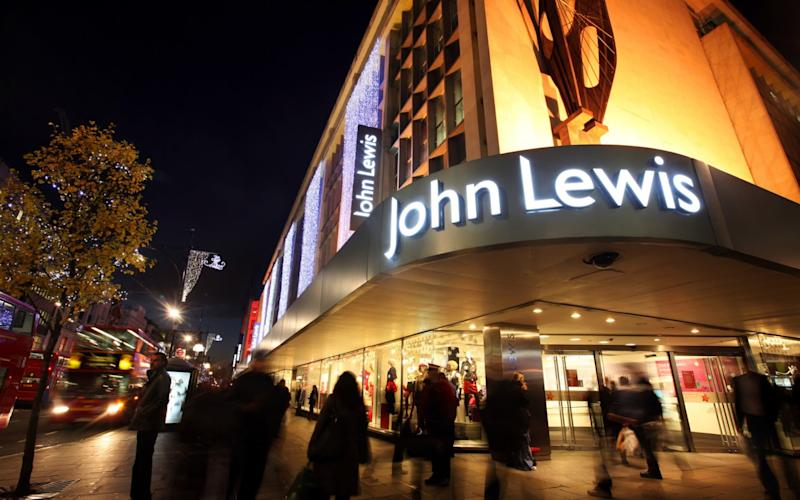 Pre-tax profits tumbled by 53.3pc to £26.6m at John Lewis - Handout
