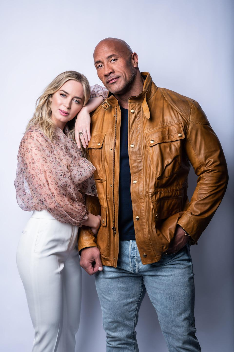 """Dwayne Johnson and Emily Blunt team up and sometimes play nice in """"Jungle Cruise."""""""