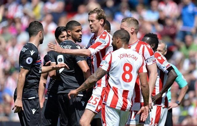 Stoke 1 Crystal Palace 2: Eagles confirm Premier League survival by relegating Potters