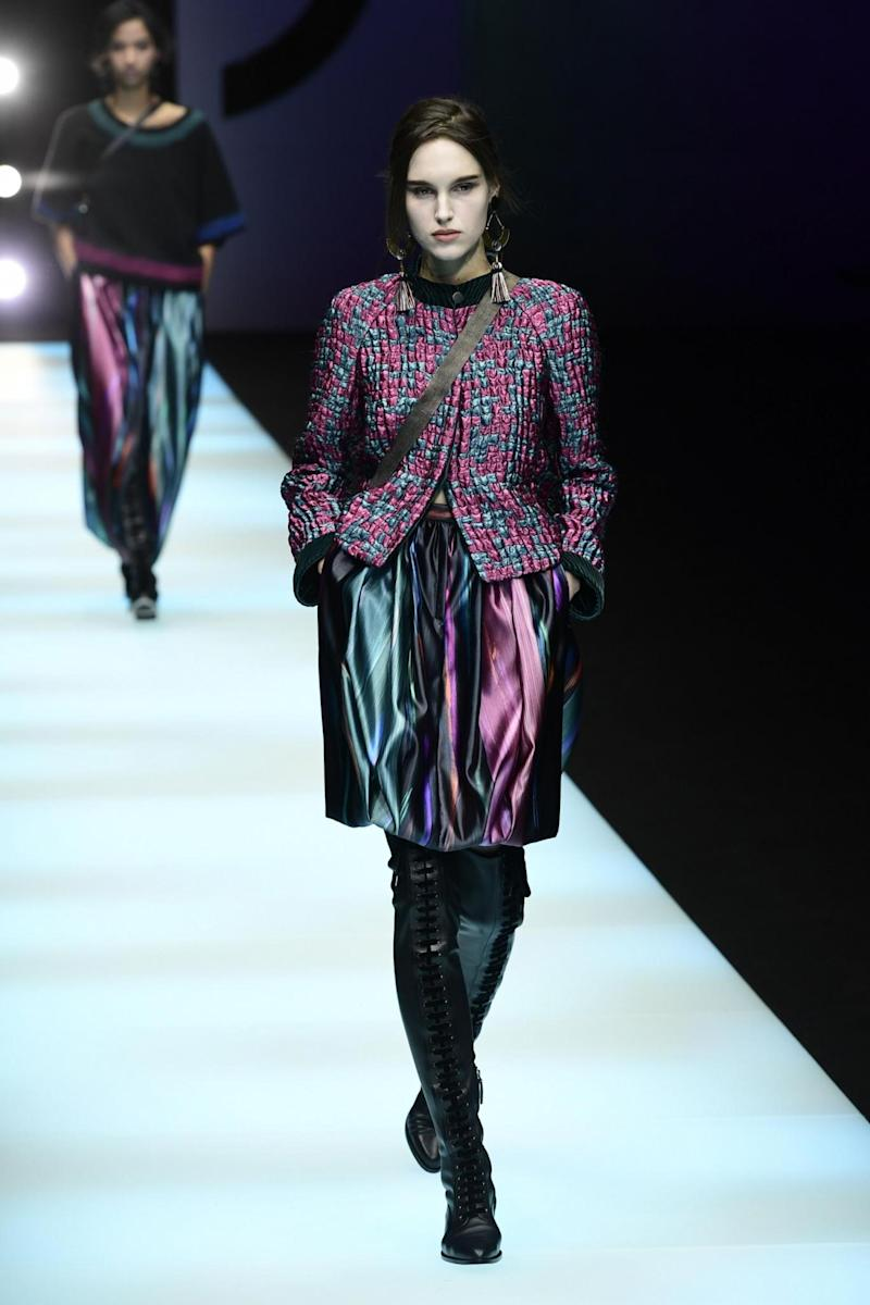 Giorgio Armani Autumn/Winter 2018/2019 collection, Milan Fashion Week (Getty Images)