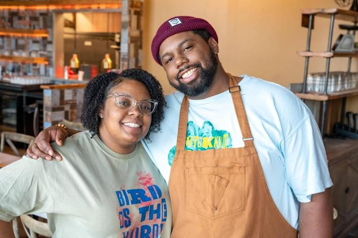 Subrina and Greg Collier are opening Leah & Louise at Camp North End.