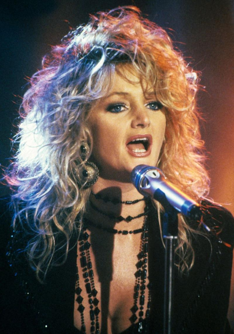 'Total Eclipse of the Heart' was a smash hit of the 1980s. Source: Getty