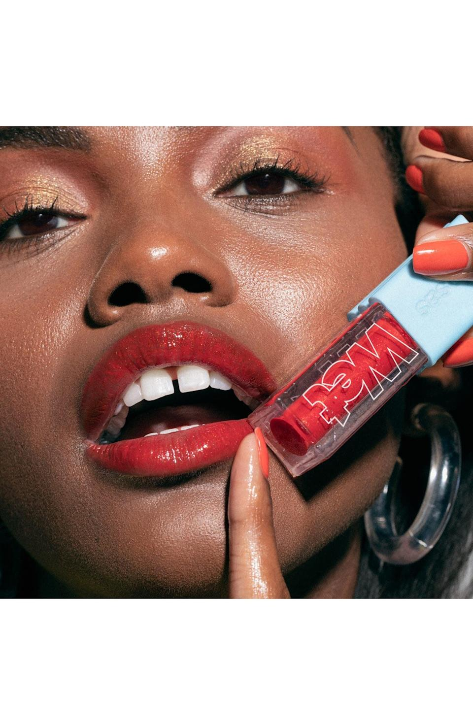 <p>If you're all about that glossy lip, the <span>Kosas Wet Lip Oil Gloss</span> ($22) is a moisturizing, high-shine find that will be your new go-to. It's got peptides and hydrators to plump your lips while the high-color payoff is perfect for that bold lip.</p>