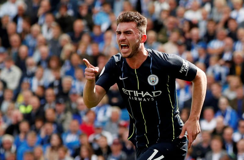 Laporte back in training with Manchester City