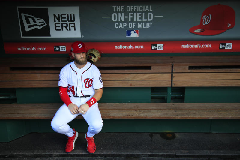MLB All-Star Bryce Harper announces social media fast