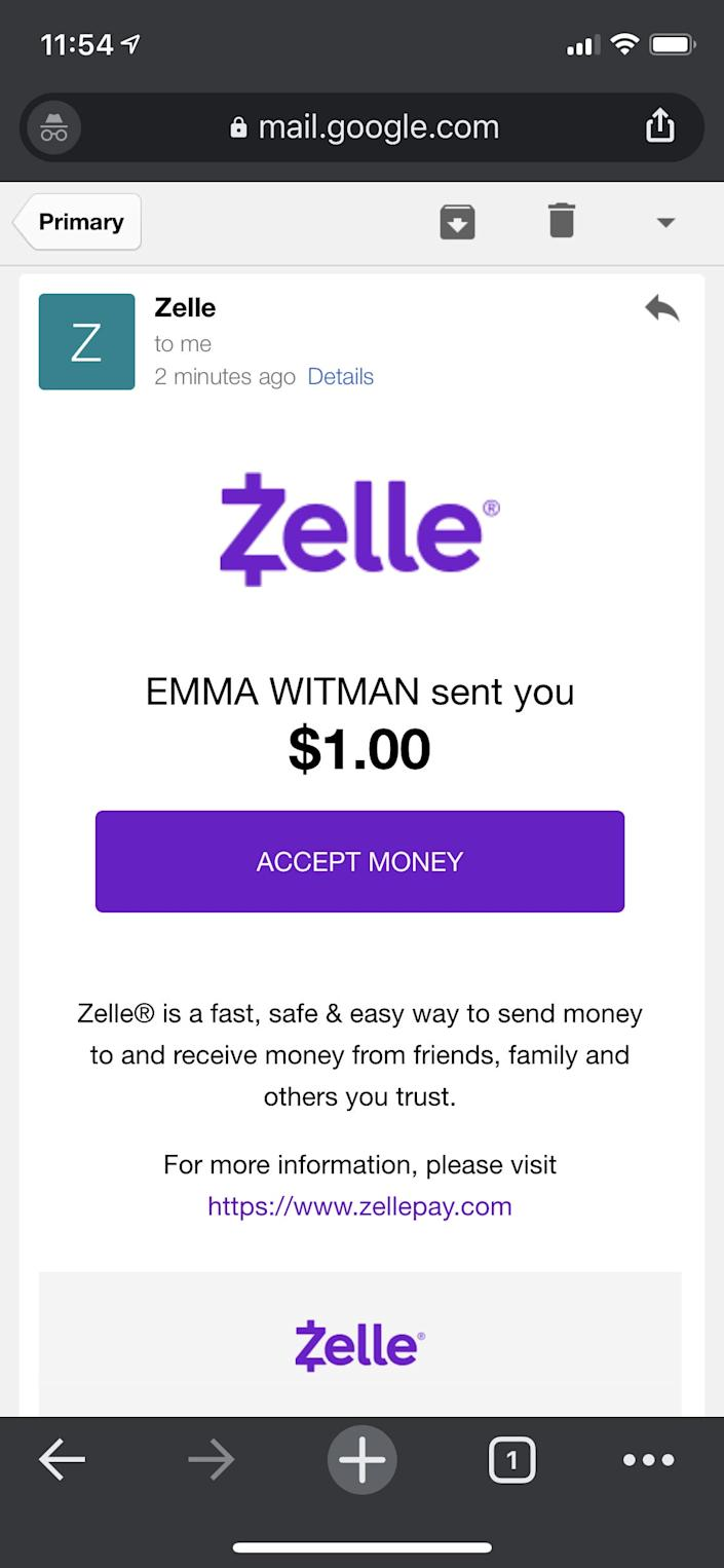 1   How to receive money on Zelle.PNG