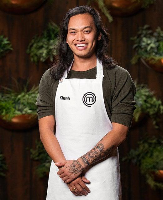 Khanh Ong in official MasterChef 2018 portrait