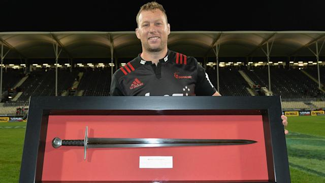 Wyatt Crockett was given a standing ovation when he came off in his record 176th Super Rugby match, which was a one-sided affair.