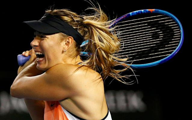 Maria Sharapova will play Roberta Vinci in her first match after serving a drugs ban - Reuters