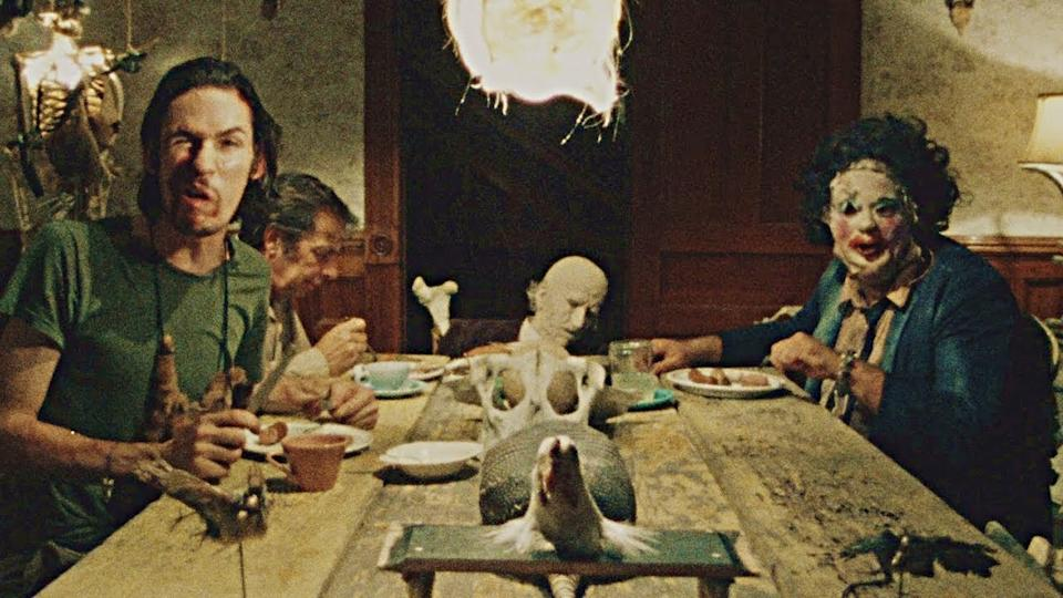 The cannibalistic Sawyer clan made their first appearance in 'The Texas Chainsaw Massacre' in 1974.