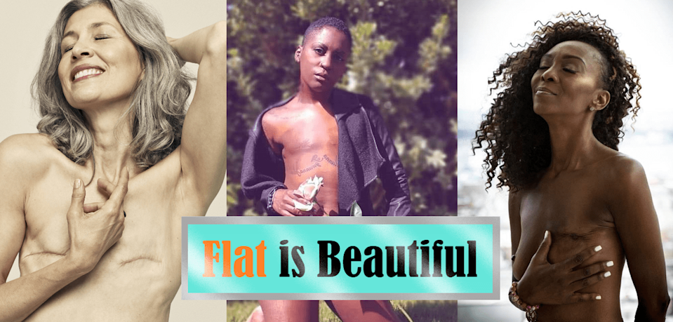 "A ""flat is beautiful"" promotional compilation. (Photo courtesy of Not Putting on a Shirt)"
